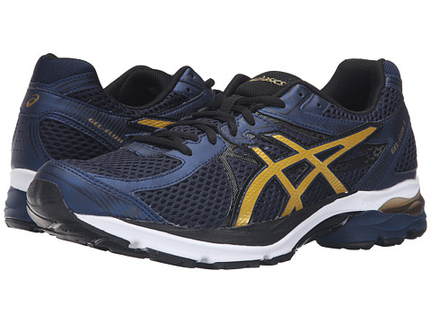 Incaltaminte Barbati ASICS GEL-Flux 3 Dark NavyRich GoldBlack