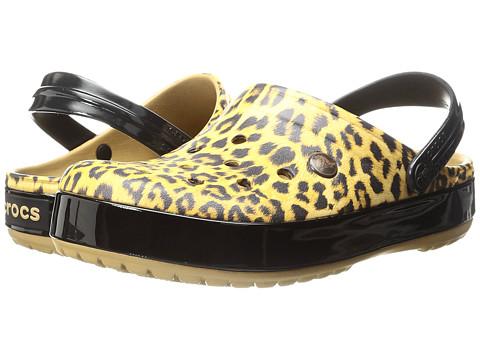 Incaltaminte Femei Crocs Crocband Leopard II Clog Camel