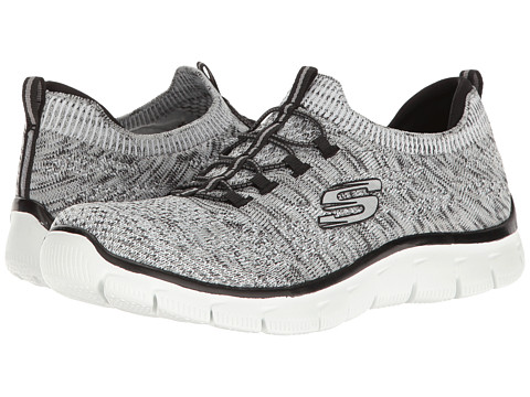 Incaltaminte Femei SKECHERS Empire - Sharp Thinking WhiteBlack