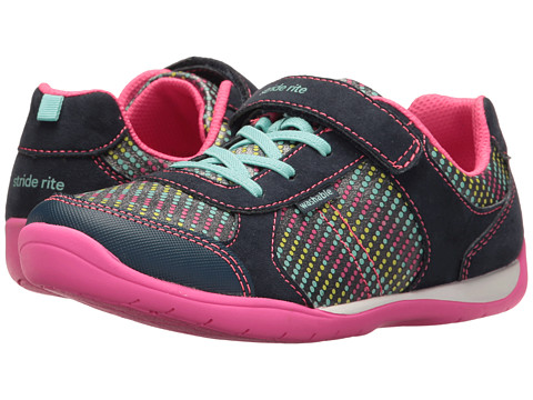 Incaltaminte Fete Stride Rite Made 2 Play Molly (Little Kid) Navy Multi