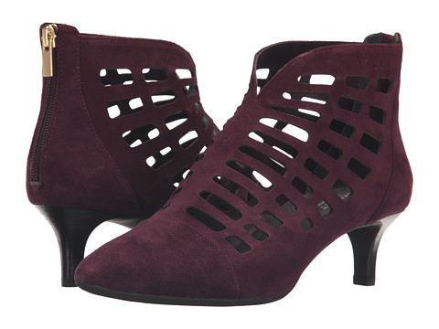 Incaltaminte Femei Rockport Total Motion Kalila Cut Out Dark Vino Suede
