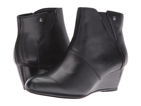 Incaltaminte Femei Hush Puppies Poised Rhea Black WP Leather