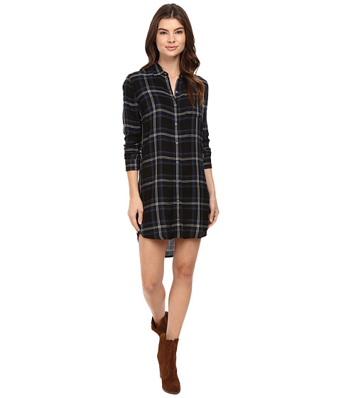 Imbracaminte Femei Obey Ammalyn Shirtdress Black Multi
