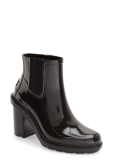 Incaltaminte Femei Hunter Original Refined Chelsea Rain Boot Women BLACK