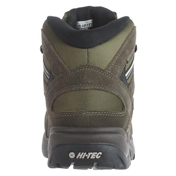 Incaltaminte Barbati Hi-Tec Hi-Tec Bandera Mid Hiking Boots - Waterproof OLIVEBLACKSNOW (01)
