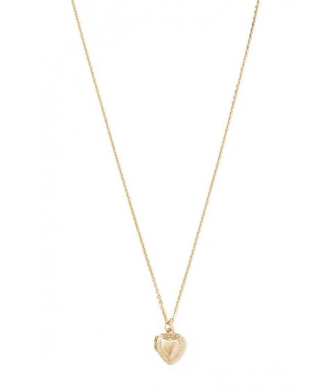 Bijuterii Femei Forever21 Heart Locket Necklace Gold