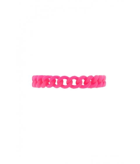 Bijuterii Femei Forever21 Silicone Cutout Bracelet Pink