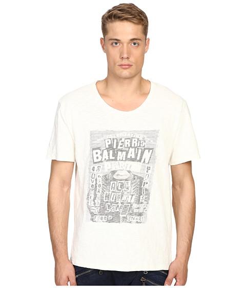 Imbracaminte Barbati Pierre Balmain Pierre Balmain T-Shirt Off-White