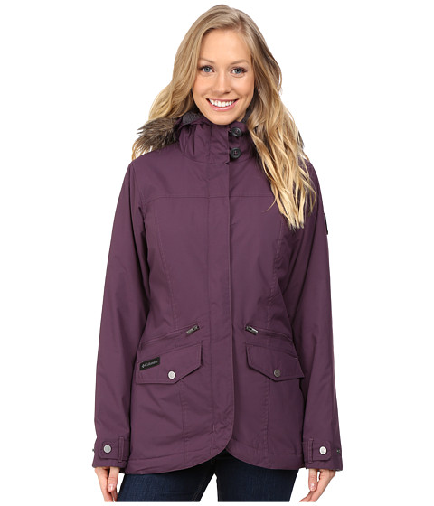 Imbracaminte Femei Columbia Grandeur Peak Mid Jacket Dusty Purple