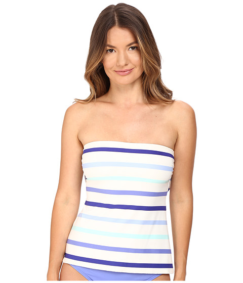 Imbracaminte Femei Kate Spade New York Early Cruise 17 Bandeau Tankini Adventure Blue