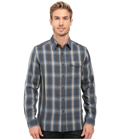 Imbracaminte Barbati Royal Robbins Pinecrest Plaid Long Sleeve Shirt Phoenix Blue