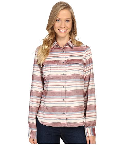 Imbracaminte Femei Columbia Pilsner Lodge Stripe Long Sleeve Shirt Marsala Red Stripe