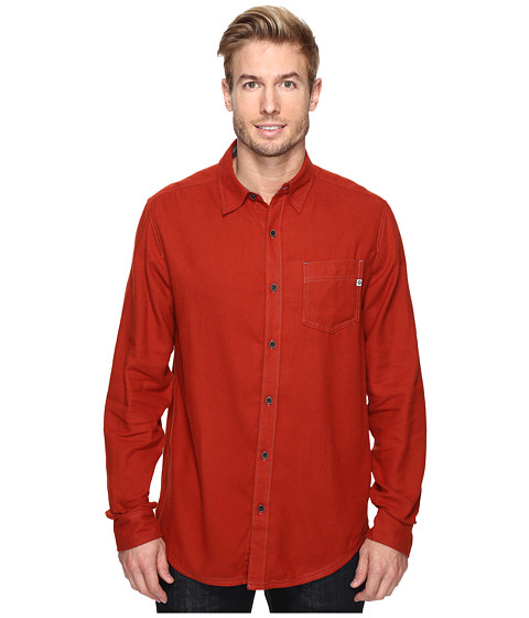 Imbracaminte Barbati Marmot Hobson Flannel Long Sleeve Shirt Dark Rust Heather