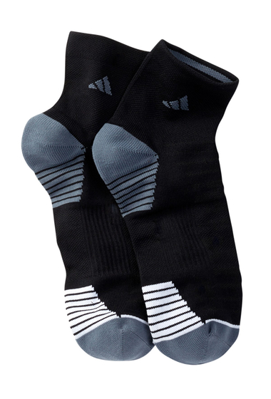 Accesorii Barbati adidas Superlite Speed Mesh Quarter Socks - Pack of 2 BLACK