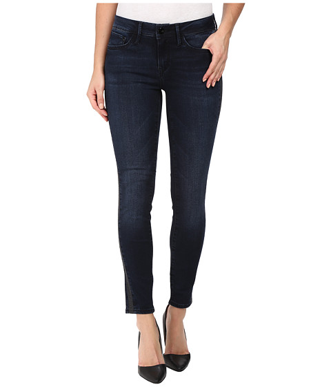 Imbracaminte Femei Mavi Jeans Adriana Ankle Mid-Rise Super Skinny in Overnight Gold Overnight Gold