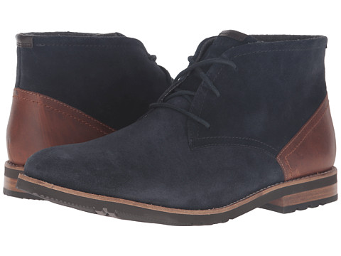 Incaltaminte Barbati Rockport Ledge Hill 2 Chukka New Dress Blues