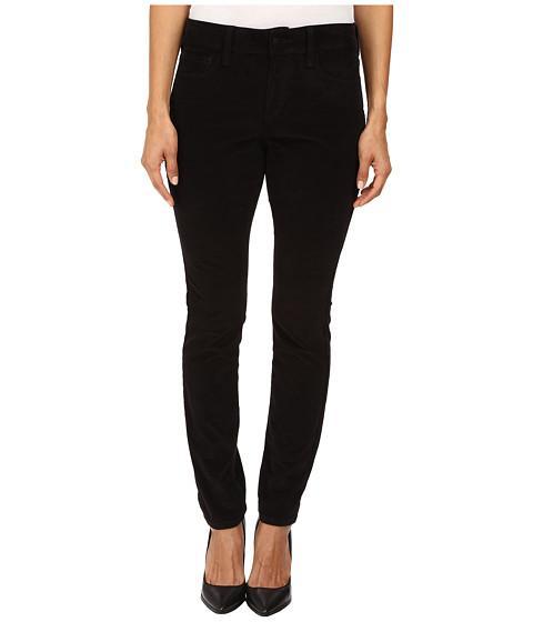 Imbracaminte Femei NYDJ Petite Alina Leggings Jeans in Corduroy in Black Black