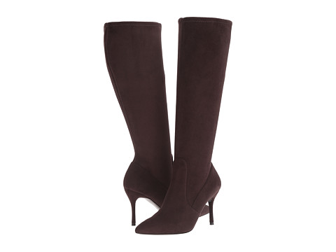Incaltaminte Femei Nine West Calla-Wide Dark Brown Fabric