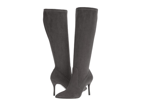 Incaltaminte Femei Nine West Calla-Wide Dark Grey Fabric