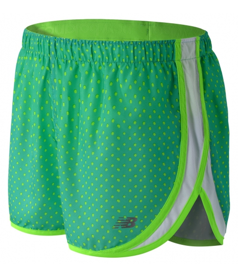 Imbracaminte Femei New Balance Womens Accelerate 25in Printed Short Green