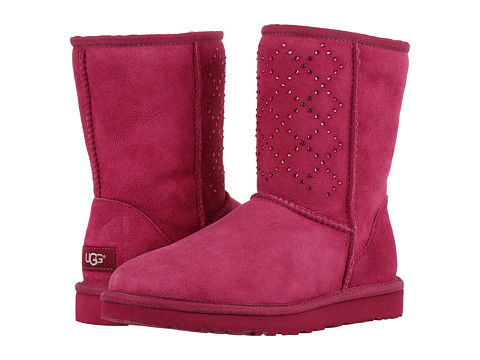 Incaltaminte Femei UGG Classic Short Crystal Diamond Lonely Hearts