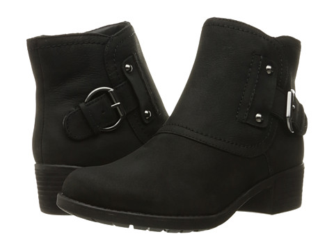 Incaltaminte Femei Hush Puppies Proud Overton Black WP Leather