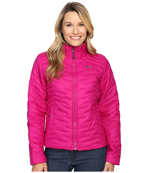 Imbracaminte Femei Under Armour UA ColdGear Jacket Magenta ShockStealth Gray