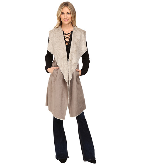 Imbracaminte Femei Brigitte Bailey Worship Cozy Vest ClayStone