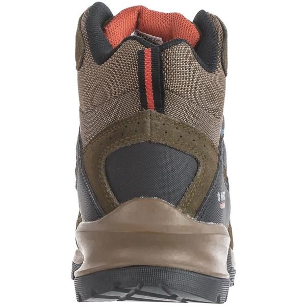 Incaltaminte Barbati Hi-Tec Hi-Tec Mount Diablo I Hiking Boots - Waterproof SMOKEY BROWNRED ROCK (01)