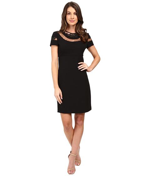 Imbracaminte Femei Donna Morgan Short Sleeve A-Line Dress Black