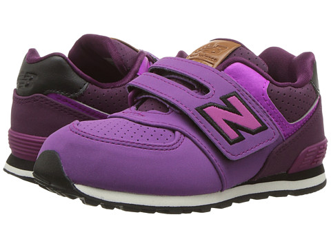 Incaltaminte Fete New Balance Kids KV574v1 (InfantToddler) PurpleBlack