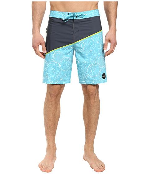 Imbracaminte Barbati ONeill Hyperfreak Oblique 3 Boardshorts Turquoise
