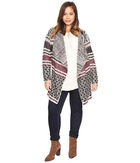 Imbracaminte Femei Lucky Brand Plus Size Mixed Stripe Cardigan Multi