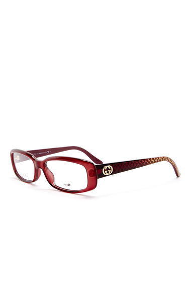 Ochelari Femei Gucci Womens Rectangle Optical Glasses 0WD9-00
