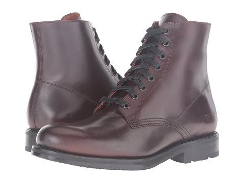 Incaltaminte Barbati Frye Brayden Lace-Up Dark Brown Smooth Pull Up