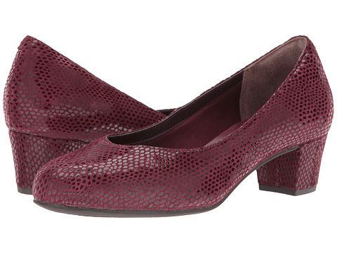 Incaltaminte Femei Rockport Total Motion Charis Windsor Wine Mamba Snake