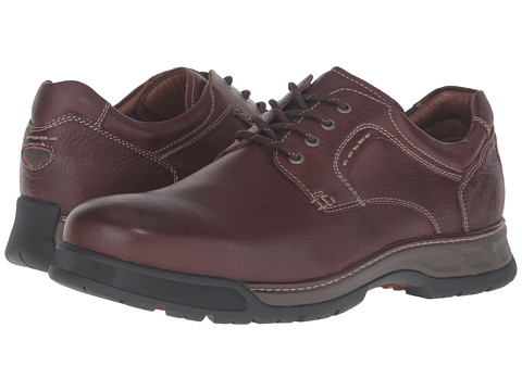 Incaltaminte Barbati Johnston Murphy XC4reg Waterproof Thompson Plain Toe Lace-Up Mahogany Waterproof Tumbled Full Grain