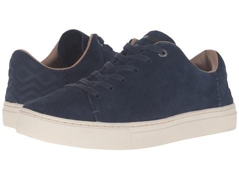 Incaltaminte Femei TOMS Lenox Sneaker Navy Suede