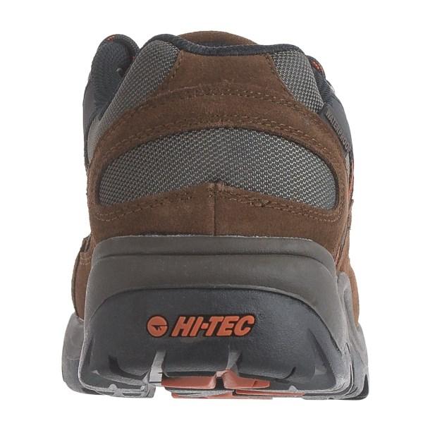 Incaltaminte Barbati Hi-Tec Hi-Tec Bandera Low Hiking Shoes - Waterproof Suede DARK CHOCOLATEBURNT ORANGE (02)