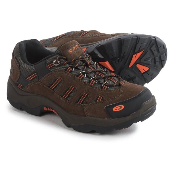 Incaltaminte Barbati Hi-Tec Hi-Tec Bandera Low Hiking Shoes - Waterproof Suede TAUPEGOLD (01)