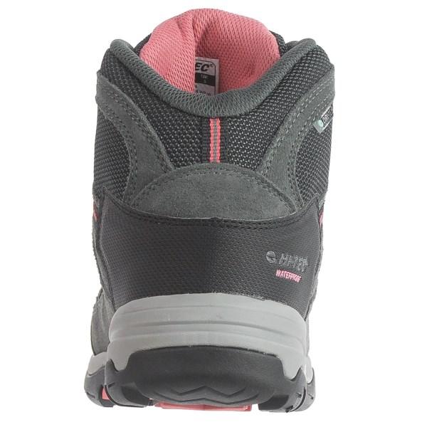 Incaltaminte Femei Hi-Tec Hi-Tec Bandera II Hiking Boots - Waterproof Suede CHARCOALGRAPHITEBLOSSOM (01)
