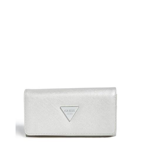 Accesorii Femei GUESS Abree Flap Wallet silver