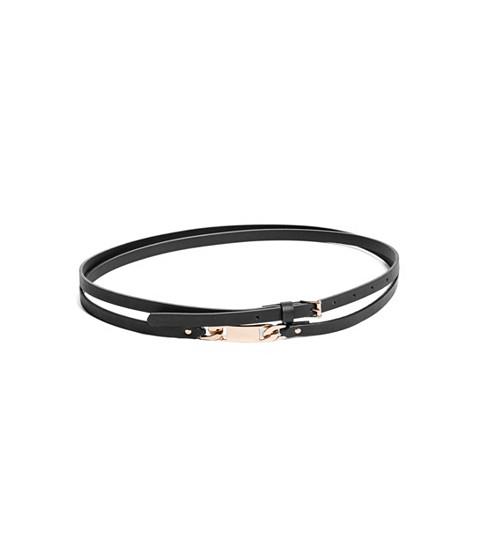 Ceasuri Femei GUESS Wrap Faux-Leather Belt black