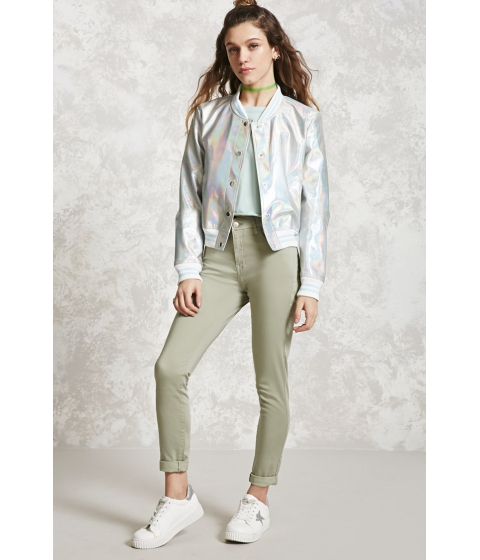 Imbracaminte Femei Forever21 Skinny Ankle Jeans Sage