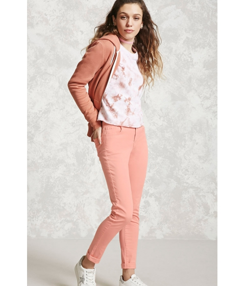 Imbracaminte Femei Forever21 Skinny Ankle Jeans Coral