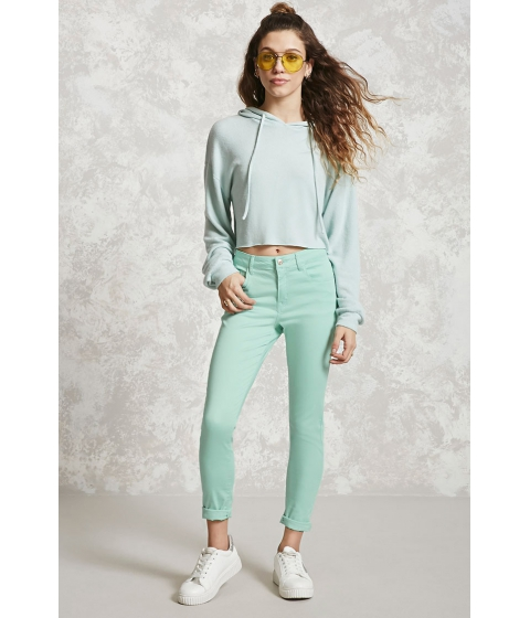 Imbracaminte Femei Forever21 Skinny Ankle Jeans Aqua