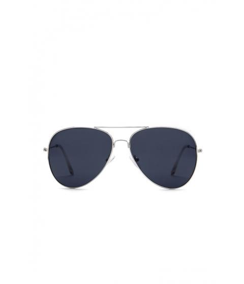 Ochelari Femei Forever21 Gradient Aviator Sunglasses SILVERBLACK