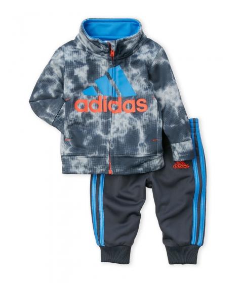 Imbracaminte Baieti adidas (NewbornInfant Boys) Two-Piece Smoke Screen Jacket Jogger Pants Set Mercury Grey