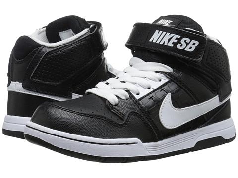 Incaltaminte Baieti Nike Mogan Mid 2 Jr (Little KidBig Kid) BlackBlackWhite