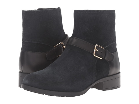 Incaltaminte Femei Cole Haan Marla Bootie Waterproof Black SuedeBlack Leather